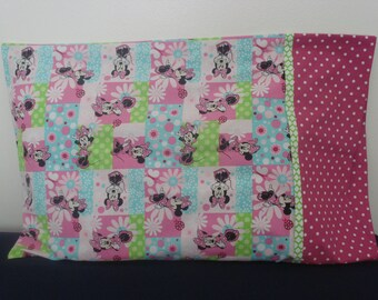 Minnie Mouse Pillowcase in Pink