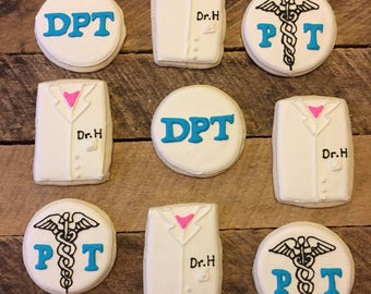 Physical Therapy Graduation cookies