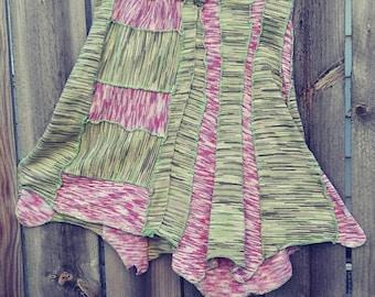 Upcycled Spring Skirt