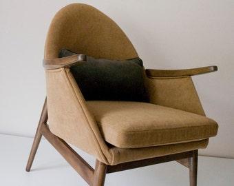 Janne Mid Century Upcycled Armchair