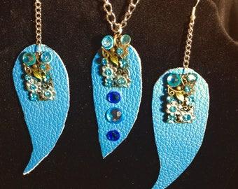 Blue Sky 3pc leather Set