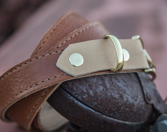 The Nice Leather Belt   Hand-Stitched Leather Belt   Full Grain Leather Belt   Handmade Leather Belt   Designer Belt
