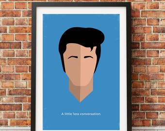 Elvis Original Icon Print (Icon Series)