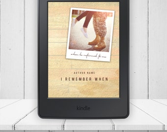 I Remember When Pre-made Ebook Kindle Mobi Epub Book Cover Plus Extras