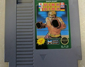 Ring King NES Nintendo