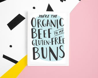 Organic GF Love Card