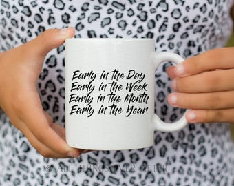 JW | MUG | Early in the Day | Preach the Word| 2 Tim 4:2 | Pioneer | Elder's | Gift | Baptism | Present