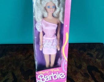 Mattel Party Pink Barbie vintage New in box Winn Dixie Special Limited Edition
