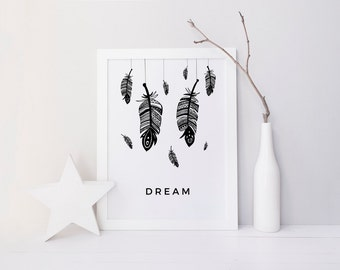 Dream Feather Print