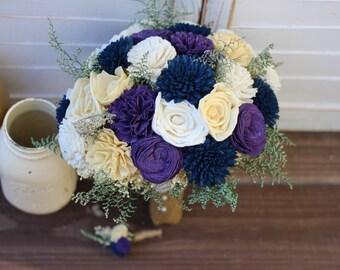 Sola Bouquet, Rustic Wedding, Purple Bouquet, Wedding Bouquet, wedding bouquet, wedding flowers, country wedding,