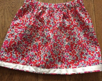 Handmade  Liberty  Skirt 18m