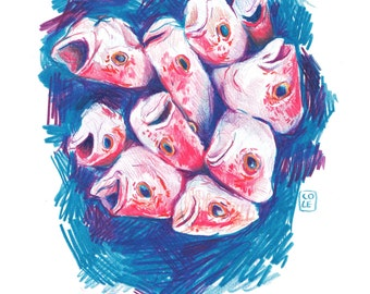 A Bunch of Fish Heads