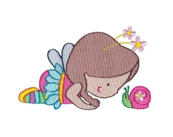 Once Upon A Time Design 9 Filled Stitch Machine Embroidery Design 4x4 5x7