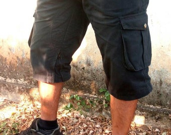 Tenderizer- Men's biker cargo shorts