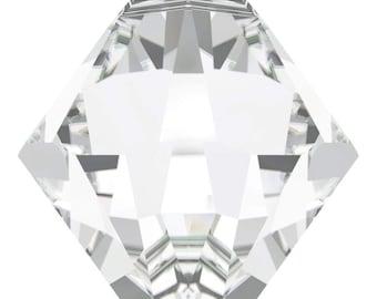 Swarovski Crystal - 6328 Bicone Top Drilled - Crystal -  6mm, 8mm, 10mm