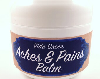 Aches and Pains Balm | back pain | joint pain | inflammation | natural + organic skincare | gifts for runners | pain balm | sore tendon