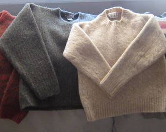 Four (4) Felted Wool Sweaters -UNCUT for YOUR Crafting projects