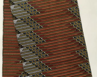 African Print Fabric/ Dutch Wax/ Ankara - Multicolored 'Créme de la créme' Design, YARD or WHOLESALE