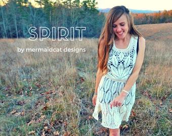 Crochet cover up pattern -Spirit