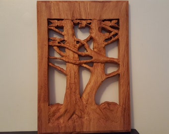 Tree Of Life in Mahogany