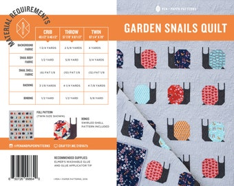 PDF Garden Snails Pattern