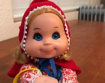Baby Beans Red Riding Hood Doll