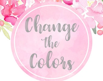 Add on Change The Colors of a Print