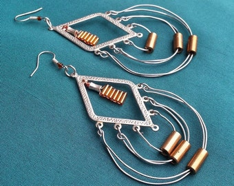 Artemis - Metal earrings