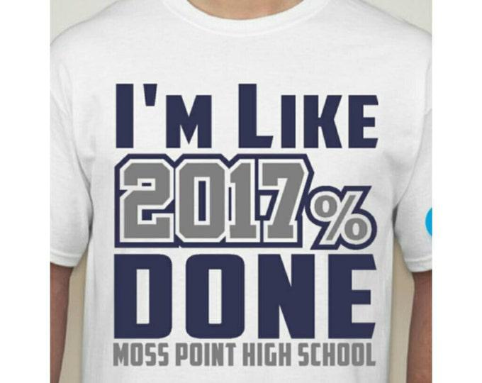 I'm 2017% Done shirt