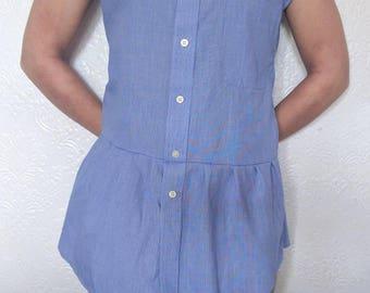 Shirt dress  , re worked shirt , women's shirt , women's shirt dress, women's summer shirt dress, summer  dress, dress, shirt dress,