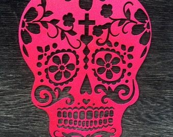 Sugar Skull || Metal Art || Dios de la Muetre || Day of the Dead