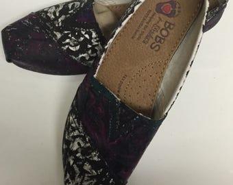 Custom One of a Kind Bob shoes!