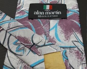 Vintage Silk ties, alan martin ties, Abstract ties, Day ties