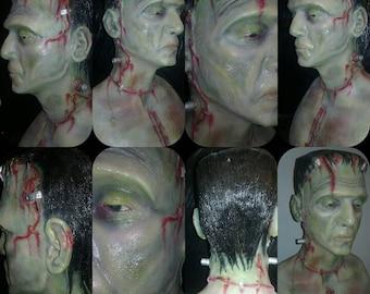 Hard Resin Frankenstein Monster Bust