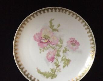 Rare Shleiger Limoges salad plate
