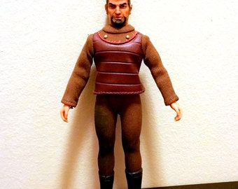 "Vintage 1974 MEGO Doll Star Trek Klingon 8"" Figure"