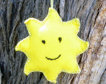 Felt Sun Ornament Sewing Kit