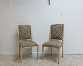Ethan Allen Georgian Court Dining Room Chairs