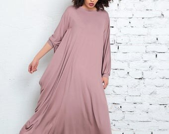 Abaya, Plus Size Clothing, Blush Pink Maxi Dress, Kimono Dress, Kaftan, Women Dress, Boho Dress, Caftan Dress, Cape Dress, Abaya Maxi Dress