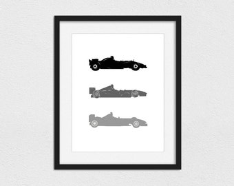 Race Car Printable Etsy
