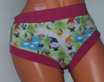 XL Scrundies Panties Ladies Underwear RTS / Briefs / Paddy Gnomes