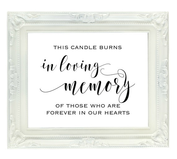 this candle burns in loving memory of those who are forever in, Powerpoint templates