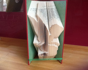 Fairy folded book art