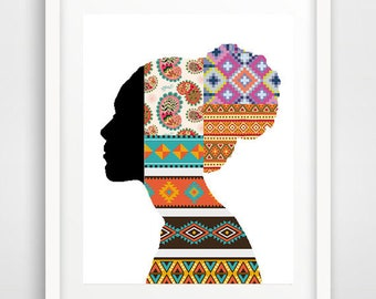 African Art Wall Prints Tribal Cool Posters American
