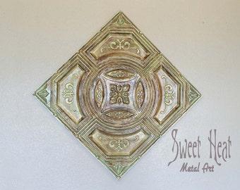 Vintage Monastary Tin Ceiling Tile