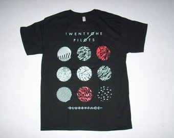 Brand New 21 Pilots Blurryface Shirt Small, Medium, Large, and XL available Free Same Day Shipping In The USA