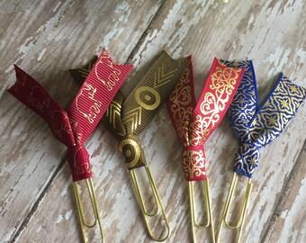 Bohemian Ribbon Clip Set