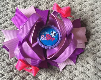 Littlest Pet Shop Stacked Hair Bows