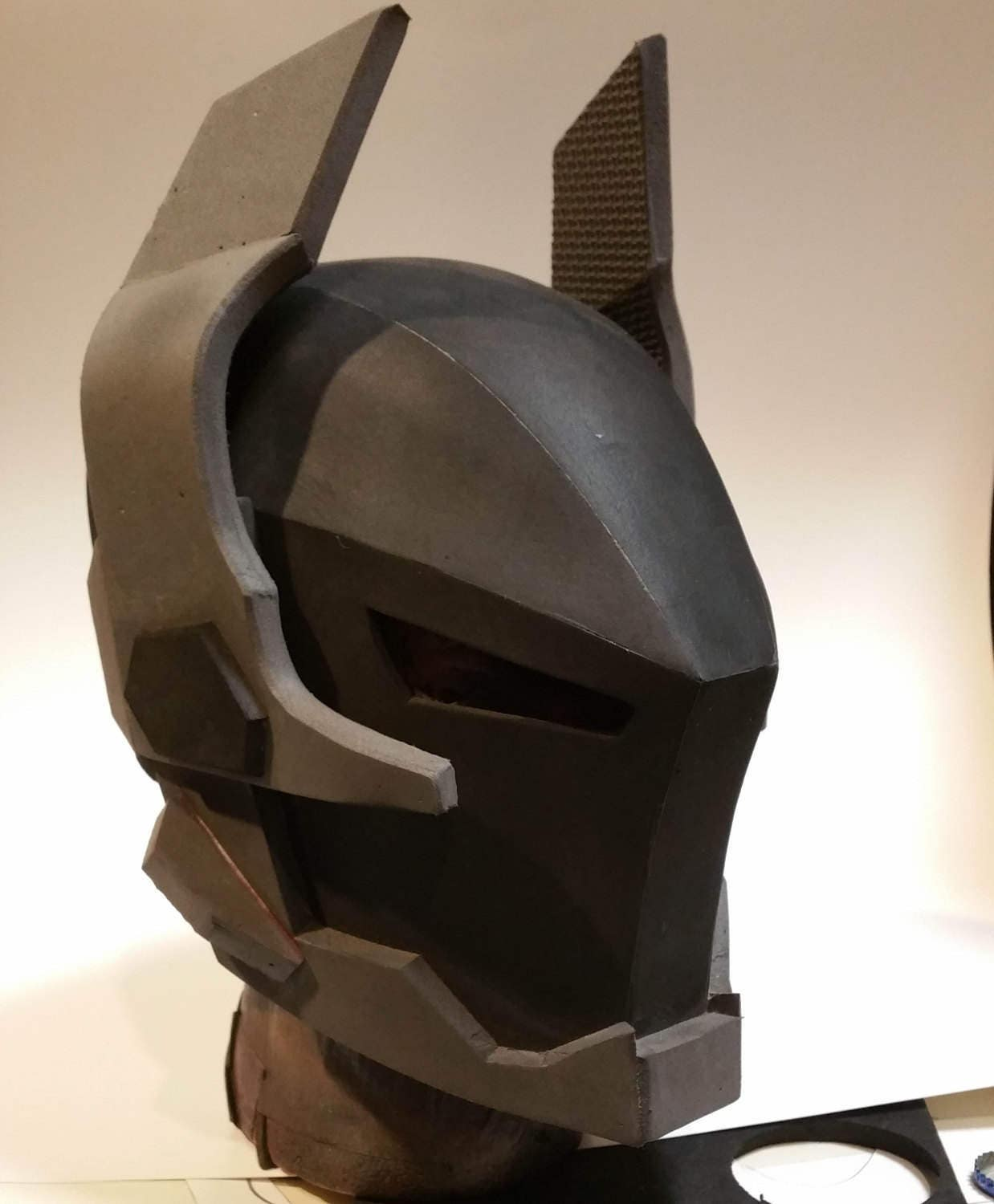 knight foam helmet template from xiengprod on etsy studio. Black Bedroom Furniture Sets. Home Design Ideas