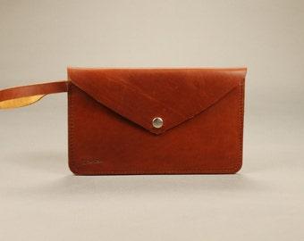 Redoker Svelte Pouch - Genuine leather purse / Clutch Handbag